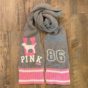 PINK Victoria's Secret Accessories - VS Pink vintage U Pink Scarf